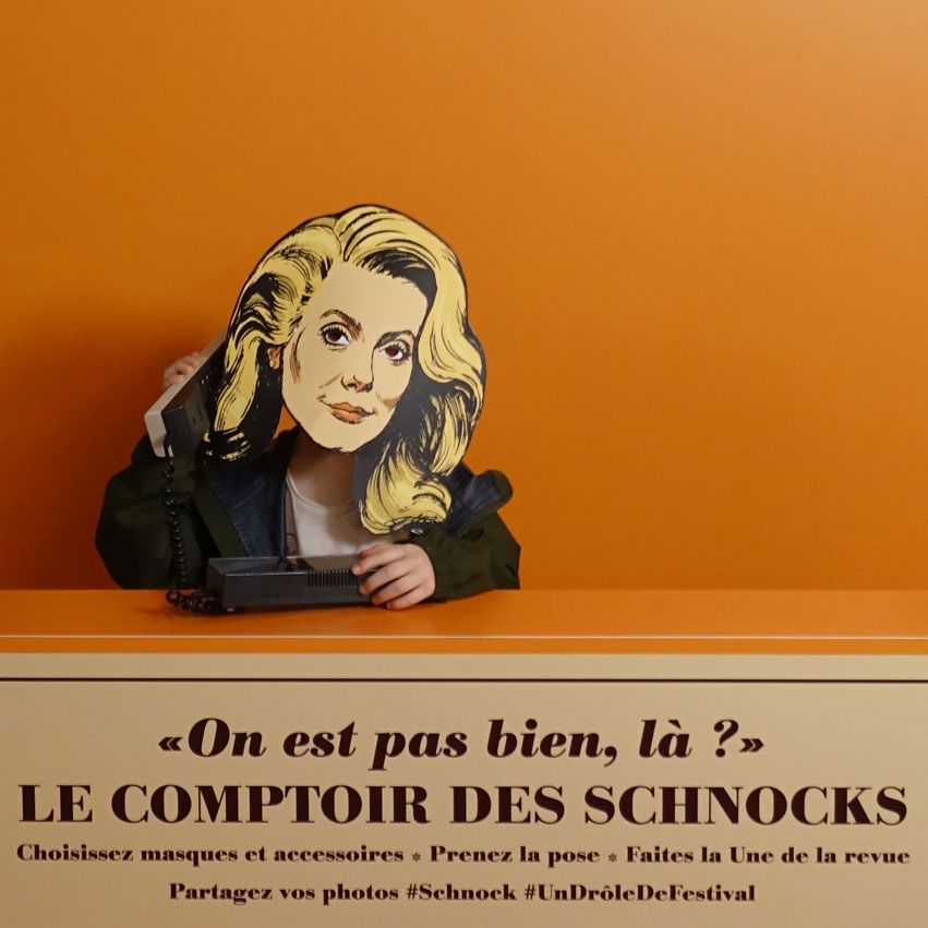 Comptoir des Schnocks, Forum des Images, Paris